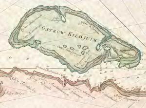 Старинная карта Кильдина