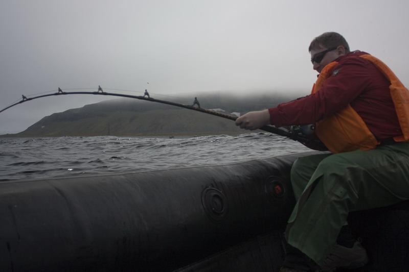 Кильдин, рыбалка