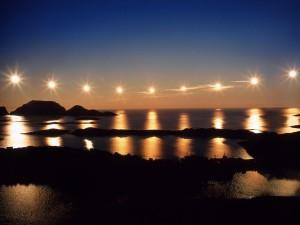 Ночной проход солнца на Нордкапе